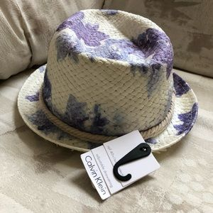NWT Women's Lily Floral Fedora Summer Beach Hat